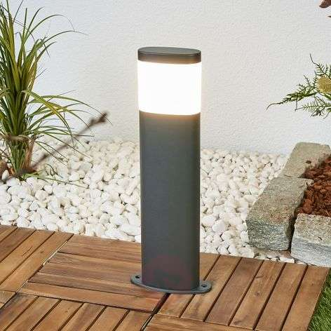 Marius LED outdoor pillar lamp-9988170-31
