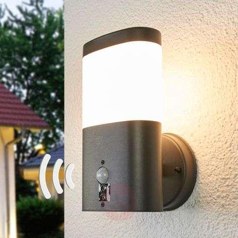 Marius LED outdoor wall lamp with sensor-9988169-31