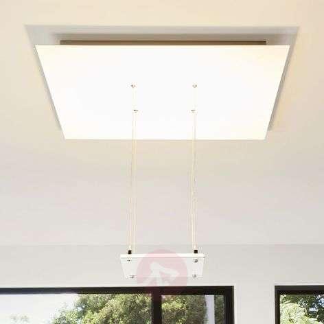 Marlou white LED ceiling lamp, indirect light
