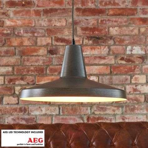 Marret metal LED pendant lamp, industrial style