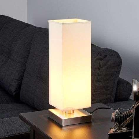 Martje white table light with E14 LED lamp-9620067-31