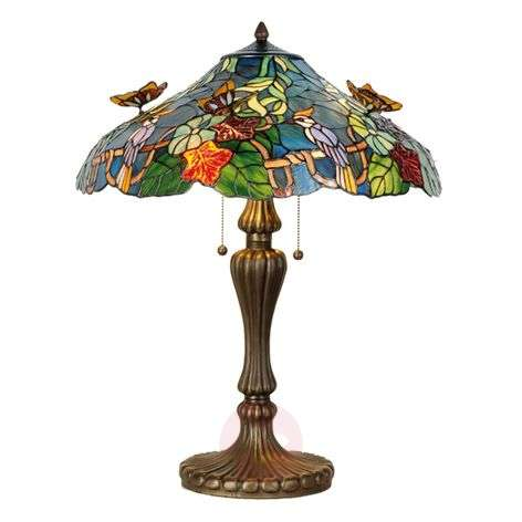 Masterful table lamp Australia, Tiffany-style