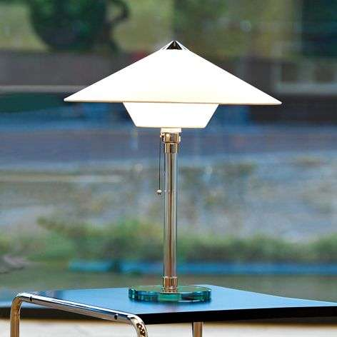 Masterful Wagenfeld table lamp