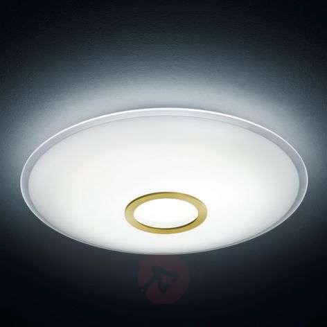 Matt brass LED ceiling light Nuno