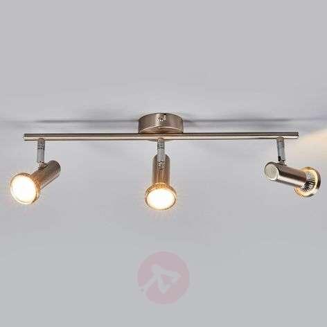 Matt LED ceiling lamp Cosma, 3-bulb
