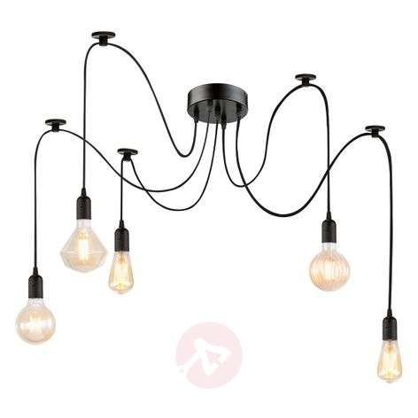 Maxie - LED hanging lamp with filament bulbs