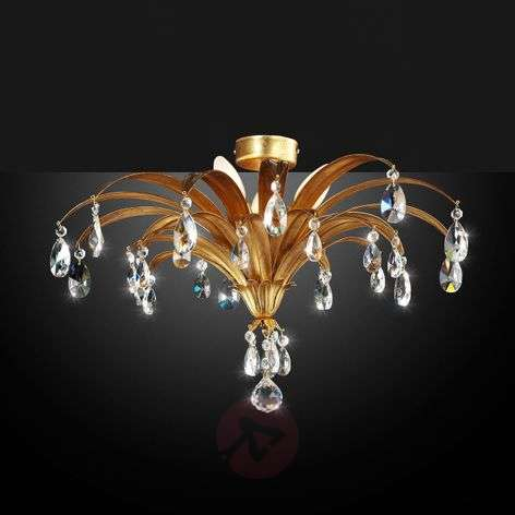Mayleen - noble ceiling light with crystals