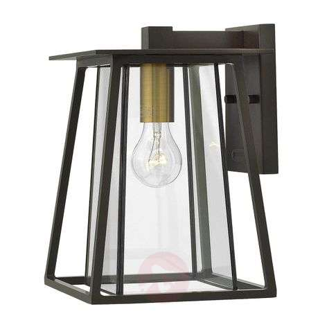 Medium-sized Walker outdoor wall light one-bulb
