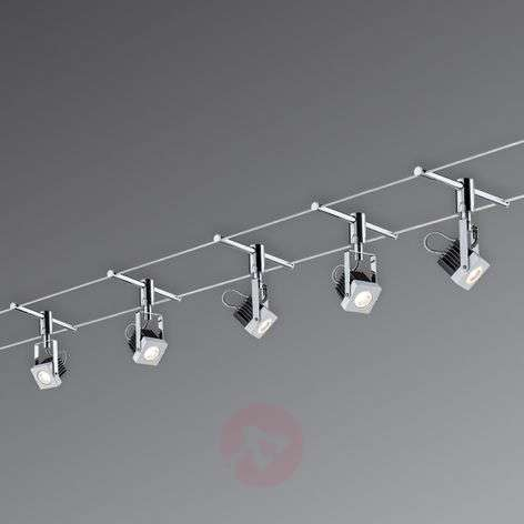 Mezzo - fully LED cable system 5-bulb