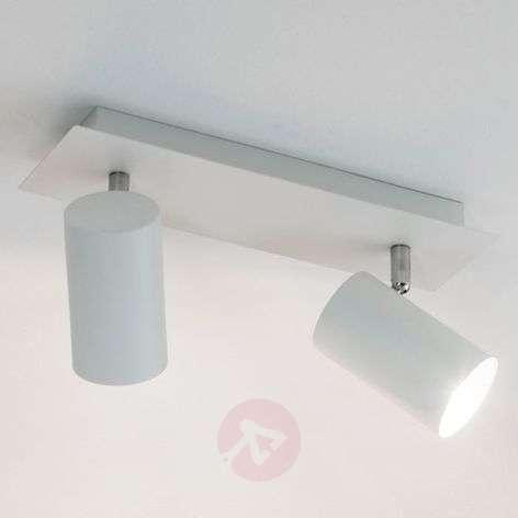 Mia 2-bulb halogen ceiling spotlight