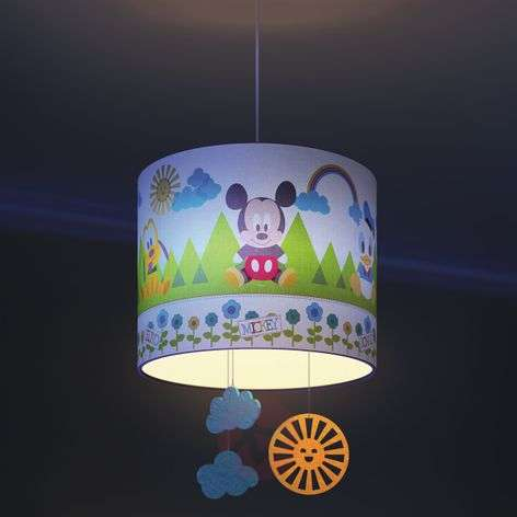 Mickey Mouse hanging light for children