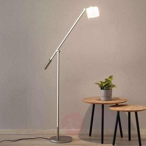 Mikkel LED floor lamp with a sensor dimmer