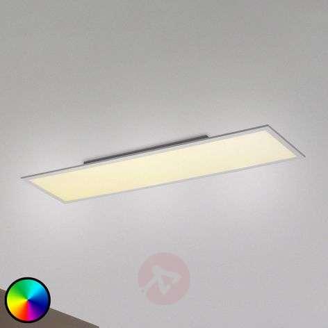 Milan LED ceiling light RGBW, 120 x 30 cm