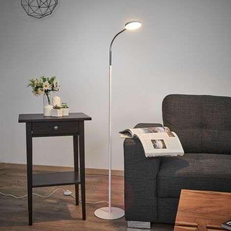 Milow LED floor lamp with gooseneck