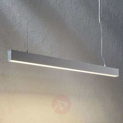 Minimalistic LED pendant lamp Minou, white