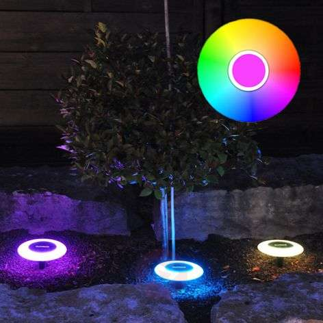 MiPow Playbulb Solar LED decorative light set of 3