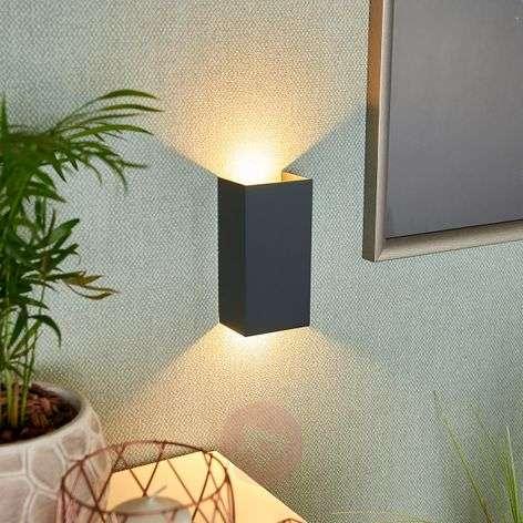 Mira - anthracite LED wall light