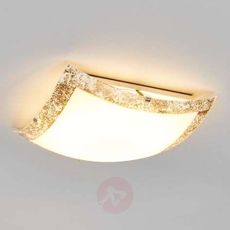 Mirella - LED ceiling light with a gold border