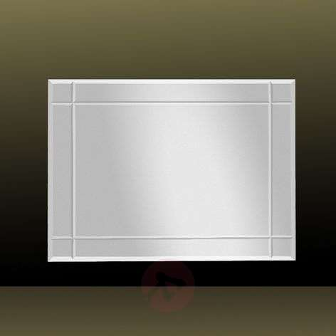 Mirror JAN with fluted bevel 70 cm