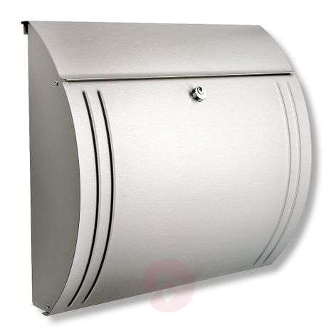 Modena stainless steel letter box
