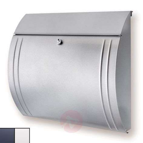 MODENA steel letter box with beautiful shape