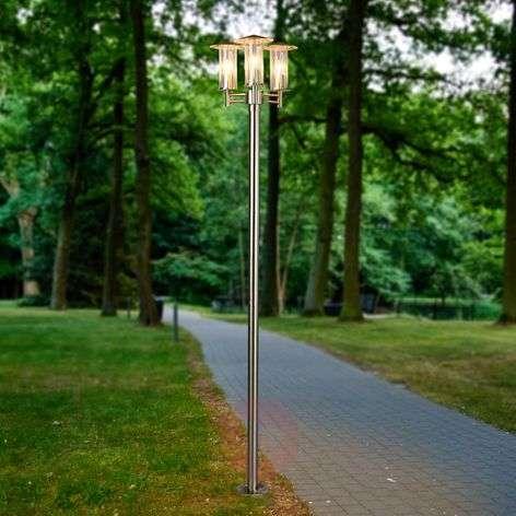 Modern 3-light post light Filko