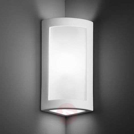 Modern corner wall light Casablanca