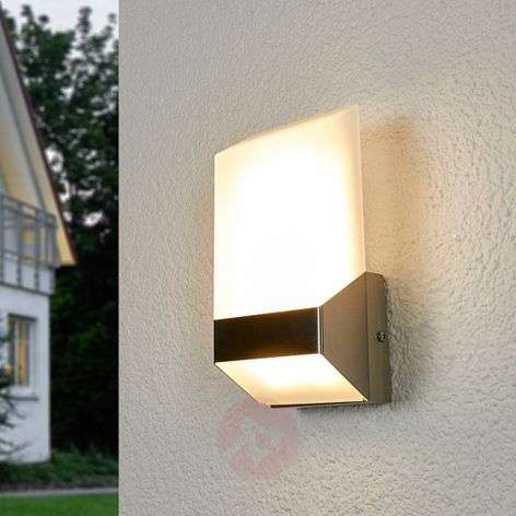 Modern Flat LED outdoor wall light stainless steel-3006327-31