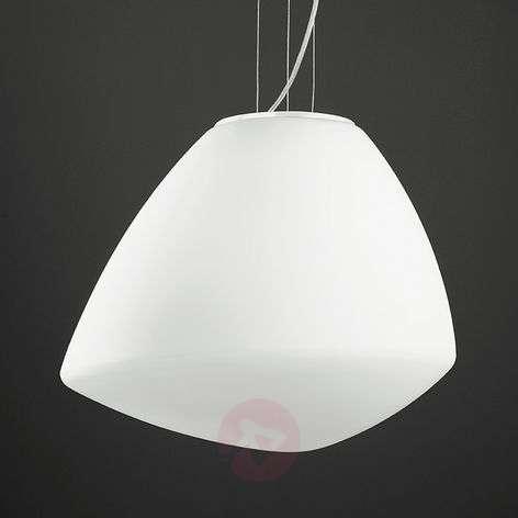 Modern glass hanging light Strano