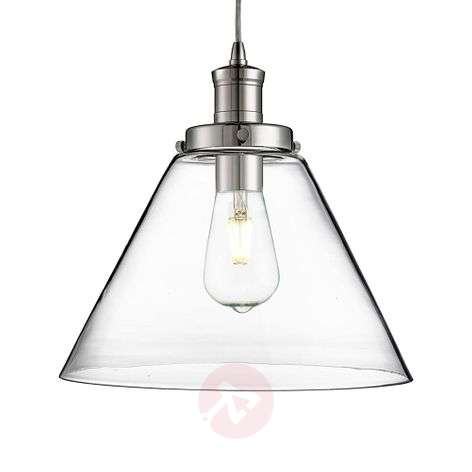 Modern glass pendant light Pyramid