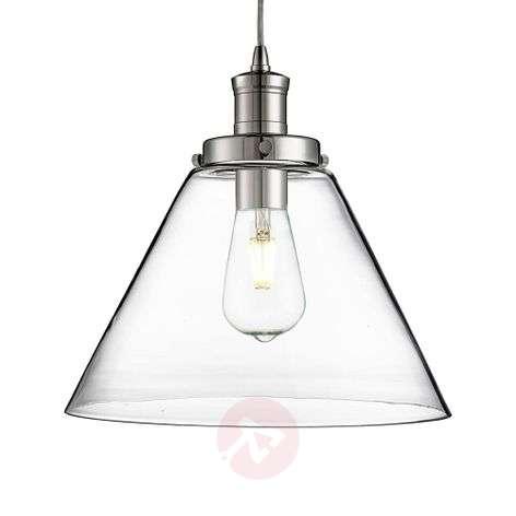 Modern glass pendant light Pyramid
