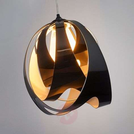 Modern GOCCIA DI LUCE hanging light, black