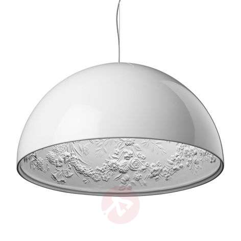 Modern hanging light SKYGARDEN 1 in white