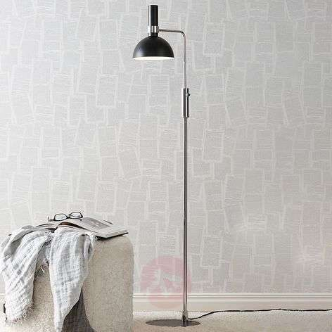 Modern Larry floor lamp with rotary dimmer