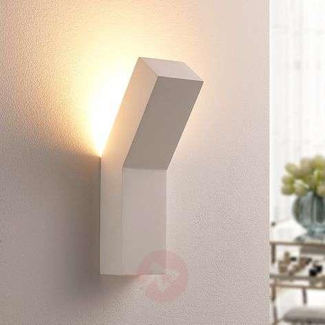 Modern LED plaster wall uplighter Tida