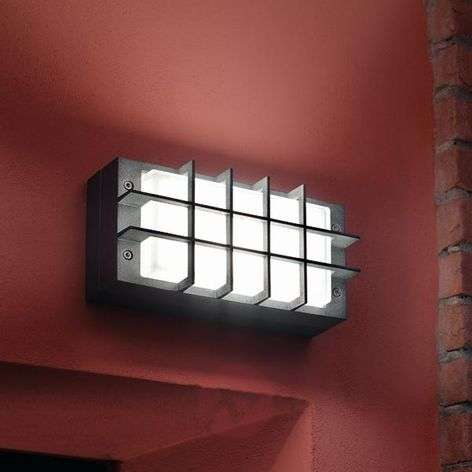Modern outdoor wall lamp BLIZ GUARD, anthracite