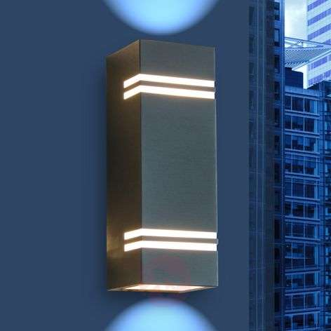 Modern Stripes LED outdoor wall light