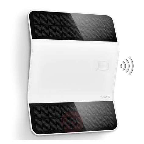 Modern X-Solar L2-S LED house number light, white