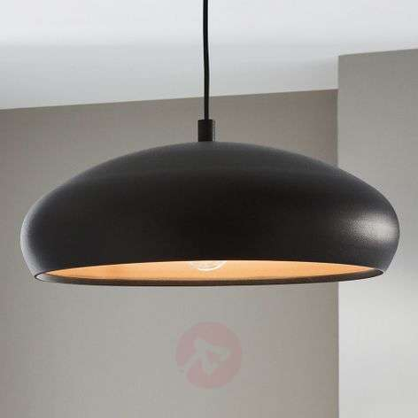 Mogano - stylish hanging light w. black finish