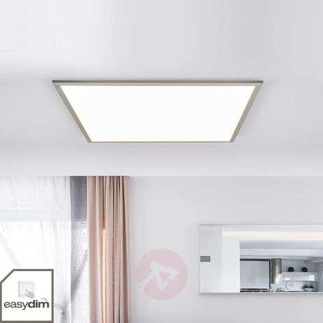 Moira dimmable LED panel in square shape