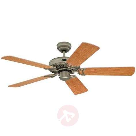 Monarch ceiling fan in titanium