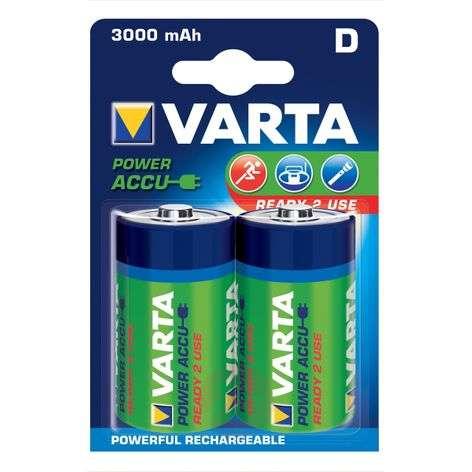 Mono battery 56720 1.2V 3000mAh two-pack