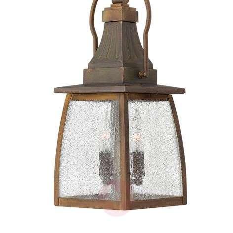 Montauk Hanging Light Solid Brass