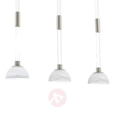 Montefio - 3-bulb LED hanging light   Lights.ie