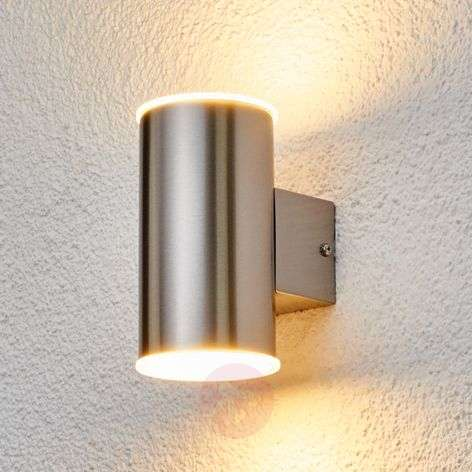 Morena - Stainless steel outdoor wall light LEDs