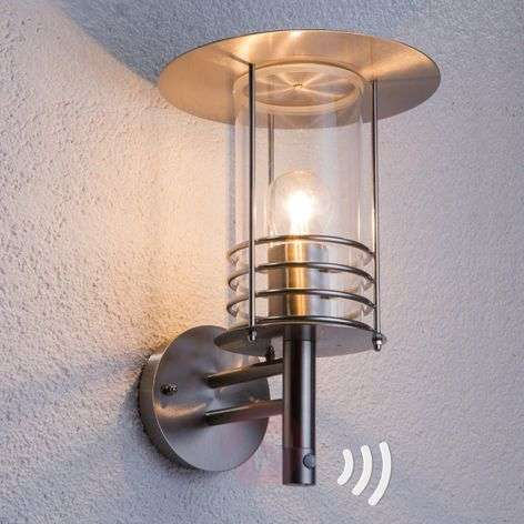 Motion sensor outdoor wall light Miko