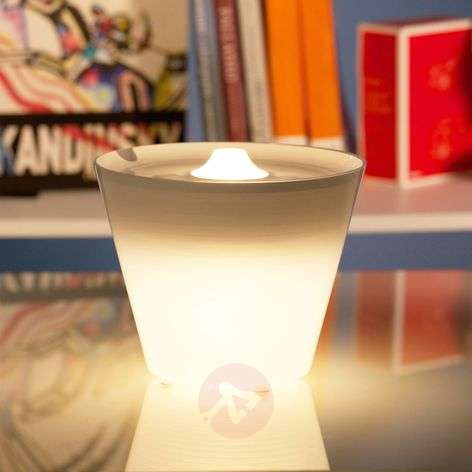 Multi-functional MultiPot+ LED table lamp