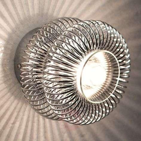 Multi-purpose wall light Spring, chrome