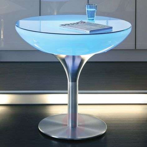 Multicoloured light Lounge Table LED Pro