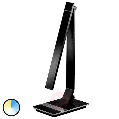 Multifunctional Yuna LED table lamp, black